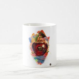 Apple de la sabiduría y del poder taza de café