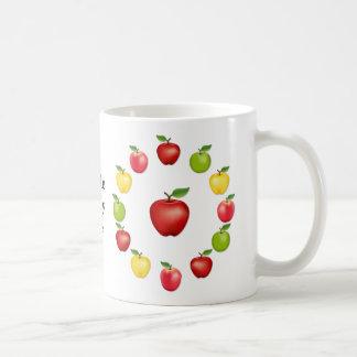 Apple de mi ojo taza de café