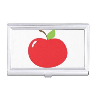 Apple de su dibujo animado del ojo cajas de tarjetas de presentación