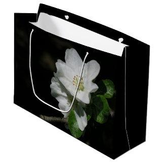 Apple florece bolsa de regalo grande