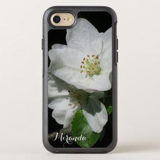 Apple florece - con nombre o el texto - funda OtterBox symmetry para iPhone 8/7