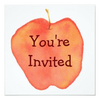 Apple Invitación 13,3 Cm X 13,3cm