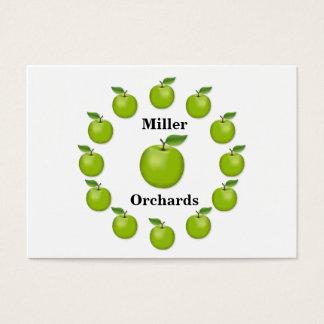Apple mide el tiempo, granny smith tarjeta de negocios