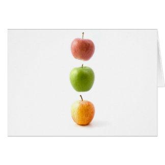 Apple mide el tiempo tarjeta de felicitación