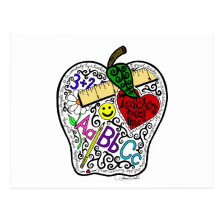 Apple para el profesor postal