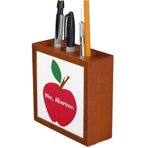 Apple para la escuela primaria del profesor el  
