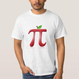 Apple pi camiseta