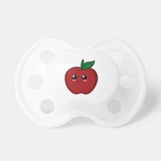 Apple rojo lindo chupete