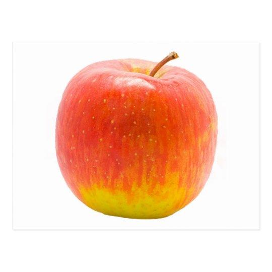 Apple rojo postal