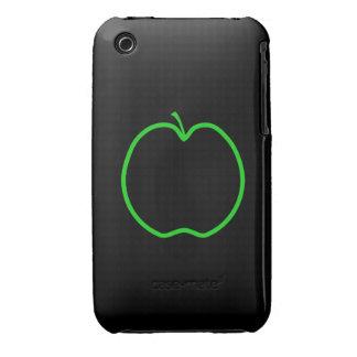Apple verde resume funda para iPhone 3
