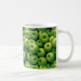 Apple verde taza de café
