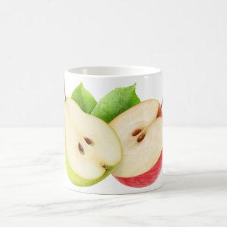Apple y pera taza