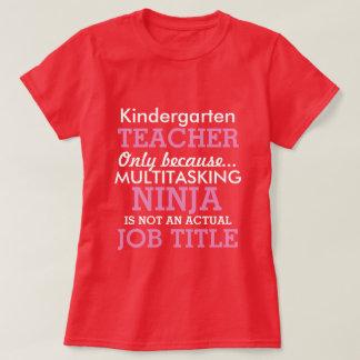 Aprecio divertido del profesor de escuela de la camisetas