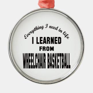 Aprendí de baloncesto de silla de ruedas ornamentos de reyes magos