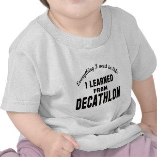 Aprendí de Decathlon. Camisetas
