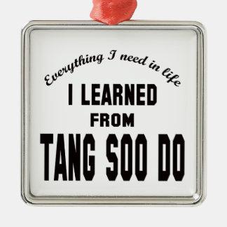 Aprendí de Tang Soo hago Ornatos
