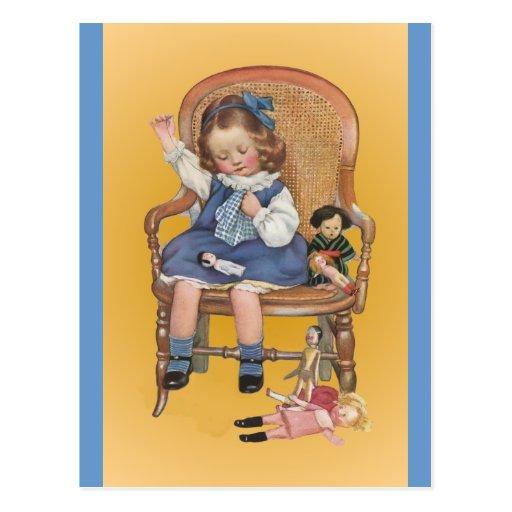 Aprendizaje coser postales