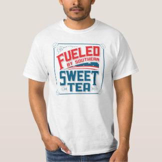 Aprovisionado de combustible por la camiseta dulce