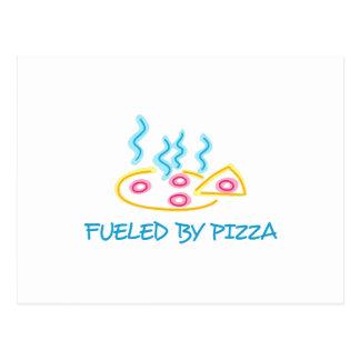 Aprovisionado de combustible por la pizza postal