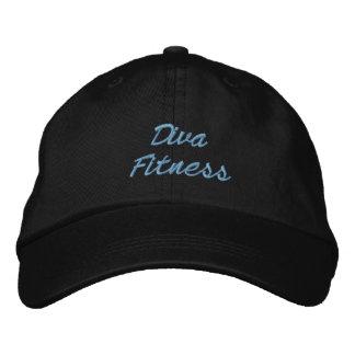Aptitud de la diva gorra bordada