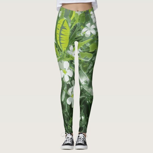 Aptitud del Plumeria Leggings