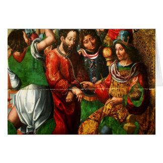 Apuesta Herodes de Cristo Tarjeta De Felicitación
