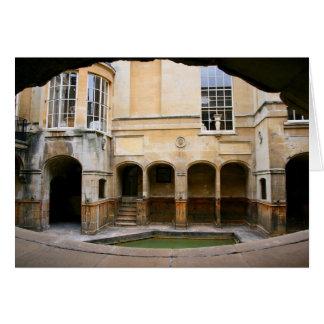 Aquae Sulis - baños romanos Tarjeta De Felicitación