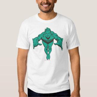 Aquaman que se lanza adelante - el trullo camiseta