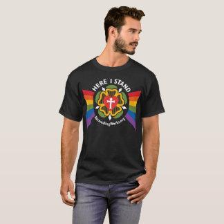 """""""Aquí coloco"""" la camiseta (en tela oscura)"""