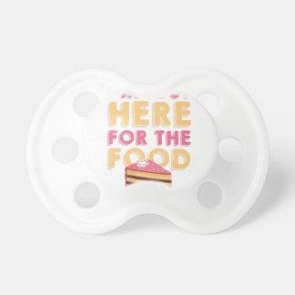 Aquí para la comida chupetes para bebés