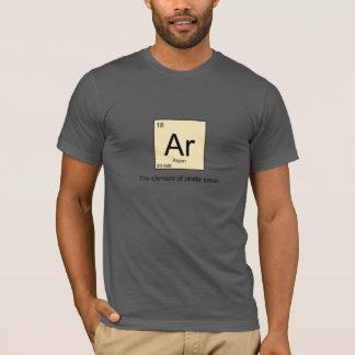 AR el elemento del pirata habla la camiseta