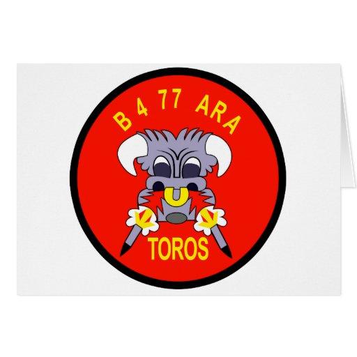 ARA VN DE AR-FB-77B B BTY 4-77 FELICITACIONES