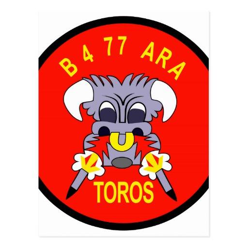 ARA VN DE AR-FB-77B B BTY 4-77 POSTAL