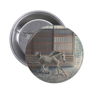 Árabe artístico chapa redonda de 5 cm
