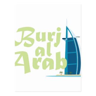 Árabe del Al de Burj Postal