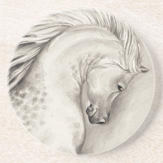 Árabe del platino posavasos de arenisca