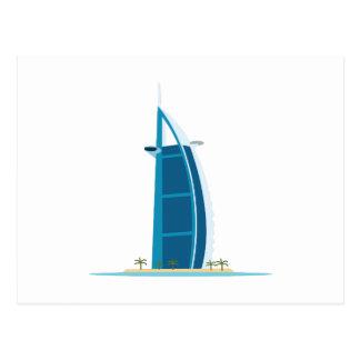 Árabe Dubai del Al de Burj Postal