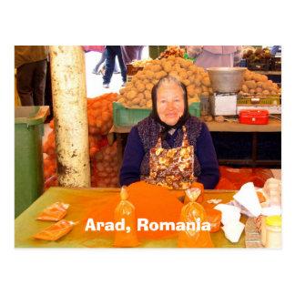 Arad, Rumania Postal