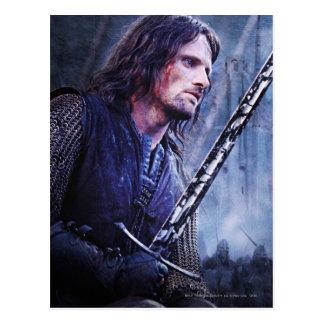 Aragorn con sangre postal