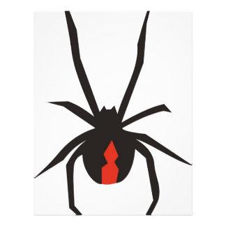 Araña 2 del Redback Folleto 21,6 X 28 Cm
