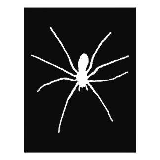 Araña blanca tarjeton