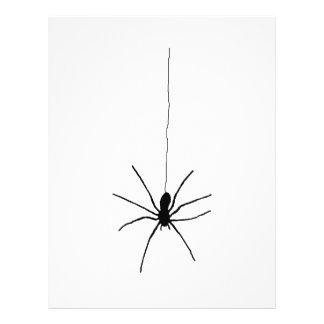 Araña colgante flyer personalizado