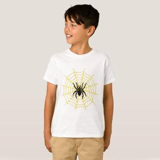 Araña de la camiseta de los niños