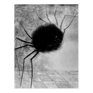 Araña de risa de Bertrand-Jean Redon Postal