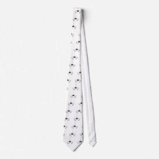 Araña del dibujo animado corbata