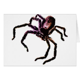 Araña del Huntsman Felicitaciones