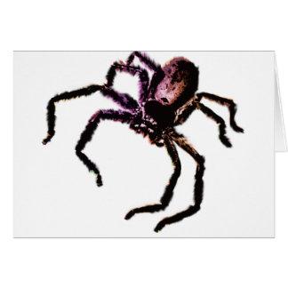 Araña del Huntsman Tarjeta De Felicitación