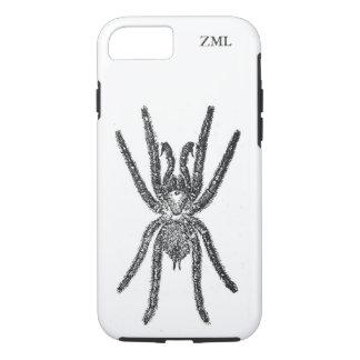 Araña espeluznante del Tarantula personalizada Funda iPhone 7