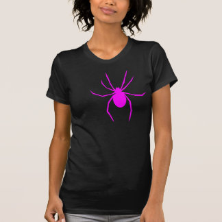 Araña rosada camiseta