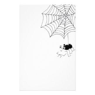 Araña satisfecha folleto 14 x 21,6 cm